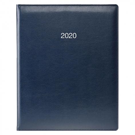 Еженедельник датированный BRUNNEN 2020 Бюро Soft, синий, артикул 73-761 36 30 код 43033