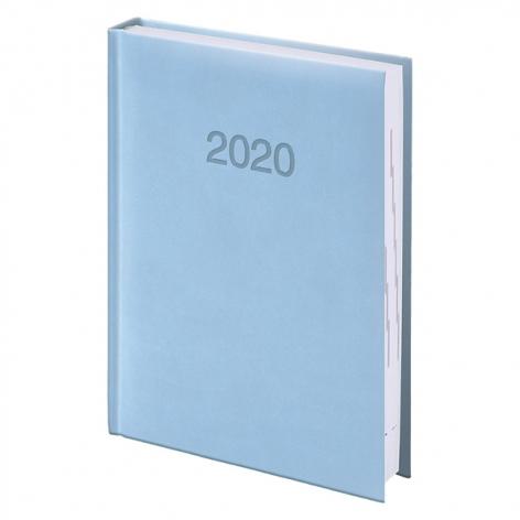 Ежедневник карманный датированный BRUNNEN 2020 Torino, голубой 73-736 38 33