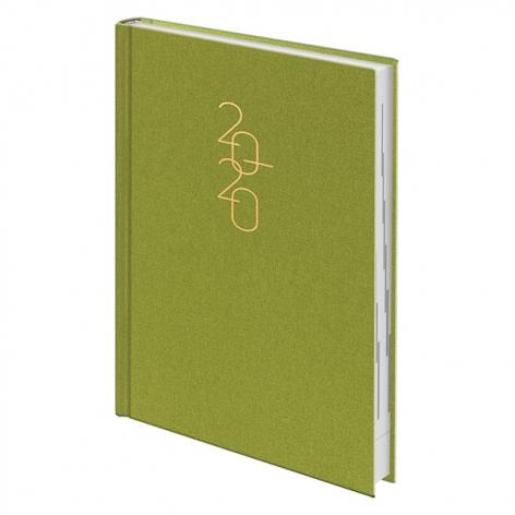 Ежедневник датированный BRUNNEN 2020 Стандарт Glam светло-зеленый 73-795 30 54