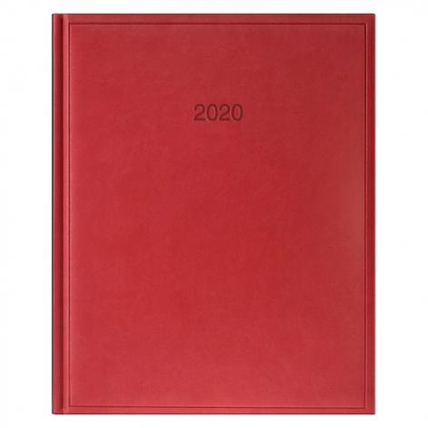 Еженедельник датированный BRUNNEN 2020 Бюро Torino, красный, артикул 73-761 38 20 код 43037