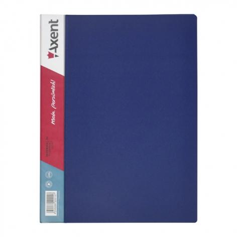 Дисплей-книга на 10 файлов, AXENT 1010-02-А синий
