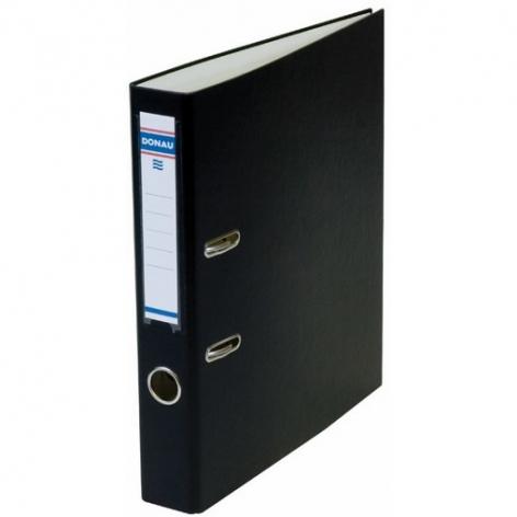 Папка-регистратор Master А4 5 см, односторонний, Donau 3950001M-01 черный