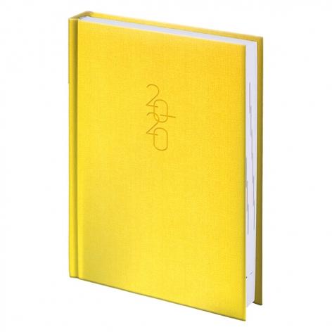 Ежедневник карманный датированный BRUNNEN 2020 Tweed желтый 73-736 31 10