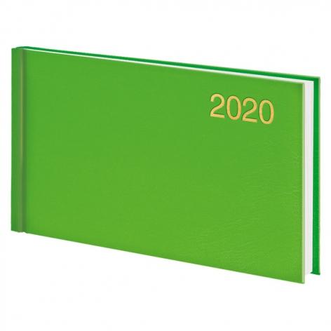 Еженедельник карманный датированный BRUNNEN 2020 Miradur, зеленый, артикул 73-755 60 54 код 43047
