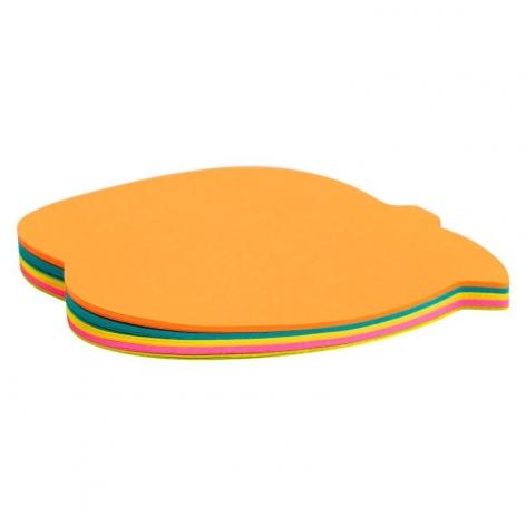 Блок бумаги с липким слоем, яблоко, 70 х 70 мм, 50 л, Axent   2443-04-A