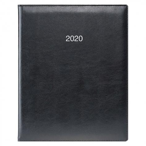 Еженедельник датированный BRUNNEN 2020 Бюро Soft, черный, артикул 73-761 36 90 код 43030
