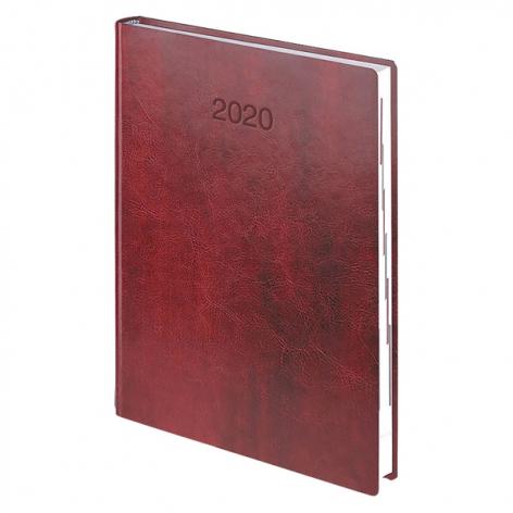 Ежедневник датированный BRUNNEN 2020 Стандарт Flex, бордовый 73-795 70 29