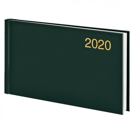 Еженедельник карманный датированный BRUNNEN 2020 Miradur Trend зеленый, артикул 73-755 64 50 код 43040