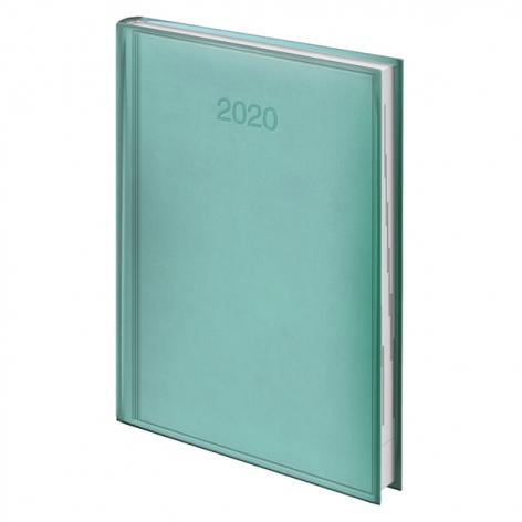 Ежедневник датированный BRUNNEN 2020 Стандарт Torino, мятный, артикул 73-795 38 44 код 43175