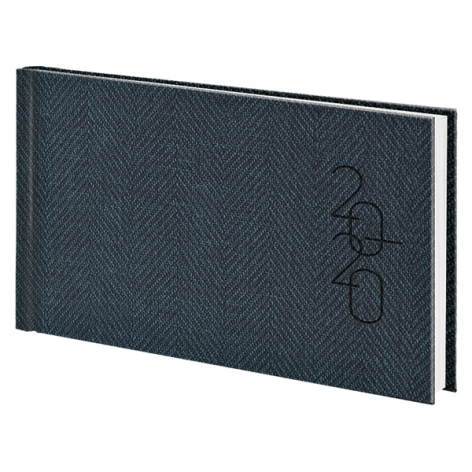 Еженедельник карманный датированный BRUNNEN 2020 Tweed серый, артикул 73-755 32 80 код 43225