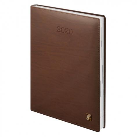 Ежедневник датированный BRUNNEN 2020 Стандарт LaFontaine, коньячный, артикул 73-795 50 70 код 43053