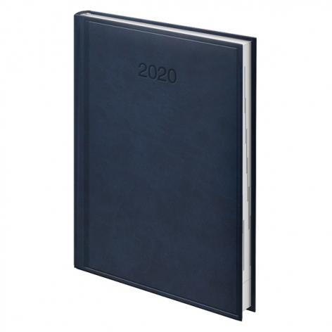 Ежедневник датированный BRUNNEN 2020 Стандарт Torino, синий 73-795 38 30