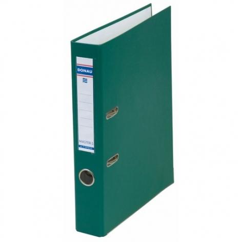 Папка-регистратор Master А4 5 см, односторонний, Donau 3950001M-06 зеленый
