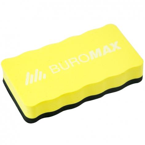 Губка для сухостираемых досок Buromax ВМ.0074-08 в желтом цвете