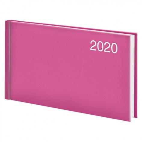Еженедельник карманный датированный BRUNNEN 2020 Miradur, розовый, артикул 73-755 60 22 код 43055