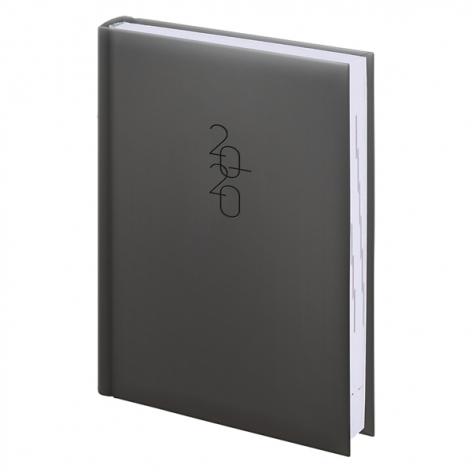 Ежедневник карманный датированный BRUNNEN 2020 Графо серебрянный 73-736 68 92