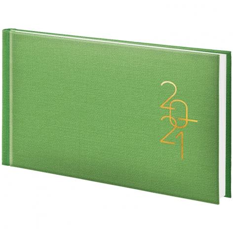 Еженедельник датированный BRUNNEN 2021 Tirol карманный светло-зеленый 73-755 37 501