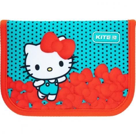 Пенал с наполнением Kite Education Hello Kitty HK21-622H, 1 отделение, 2 отворота