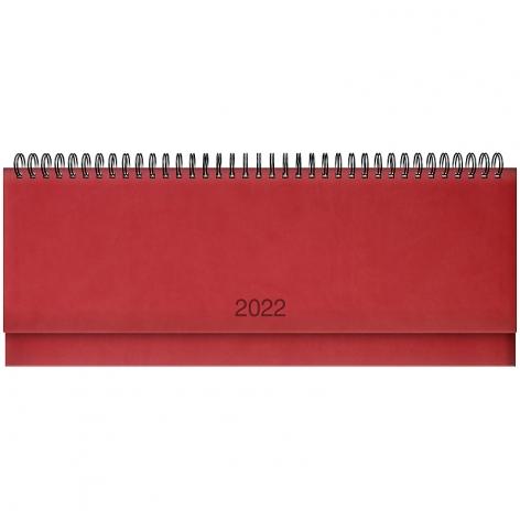 Планинг датированный BRUNNEN 2022 Torino красный 73-776 38 202