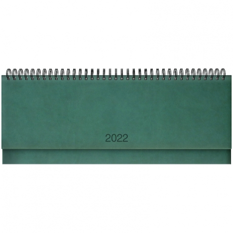 Планинг датированный BRUNNEN 2022 Torino зеленый 73-776 38 502
