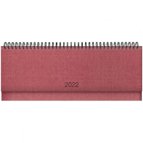 Планинг датированный BRUNNEN 2022 Tweed красный 73-776 32 202