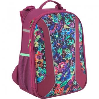 5f0bb2c60b28 Рюкзак школьный каркасный ортопедический Kite Flowery K18-703M-2 код 37359