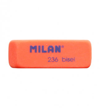 Ластик MILAN BISEL ml.236 оранжевый