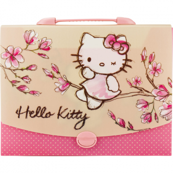 Портфель-коробка А4 Kite Hello Kitty HK17-209