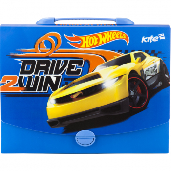 Портфель-коробка А4 Kite Hot Wheels HW17-209