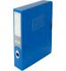 Бокс пластиковый для документов на липучке OMEGA А4, ширина 55мм Panta Plast 0410-0044-99 синий