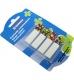 Закладки пластиковые 45 х 12 мм, 4 цвета по 20 шт. DONAU 7568001PL-99