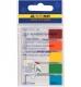 Закладки пластиковые NEON (5 х 20 л.) 45 х 12 мм Buromax BM.2305-98