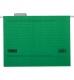 Файл картонный подвесной для картотеки А4 (320 мм х 240 мм) с индексом Buromax BM.3350-04 зеленый
