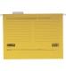 Файл картонный подвесной для картотеки А4 (320 мм х 240 мм) с индексом Buromax BM.3350-08 желтый