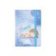 Записная книга A6, 80 листов, белый внутренний блок в клетку Gapchinska GP-18 Axent 8402-18-A