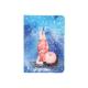 Записная книга A6, 96 листов, кремовый внутренний блок в клетку Gapchinska GP-04 Axent 8407-04-A