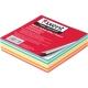 Блок цветной бумаги для записей Elite Color 9 х 9 х 2 см, склеенный Axent 8025-А