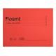 Файл картонный подвесной А4 А4 (315 мм х 240 мм) с индексом Axent 1310-24-A красный
