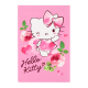 Блокнот на 48 листов, формат 70 х 105 мм клеевой Hello Kitty Kite HK17-224