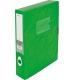Бокс пластиковый для документов на липучке OMEGA А4, ширина 60 мм Panta Plast 0410-0044-99 зеленый