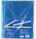 Файлы А4, синие, 40 мкм 100 шт./уп. Buromax BM.3810-02