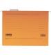 Файл картонный подвесной для картотеки А4 (320 мм х 240 мм) с индексом  Buromax BM.3350-11 оранжевый