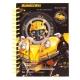 Блокнот А6 формата на 80 листов Transformers Kite tf19-222